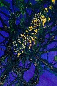 Tyger, Tyger series                  oil onpaper
